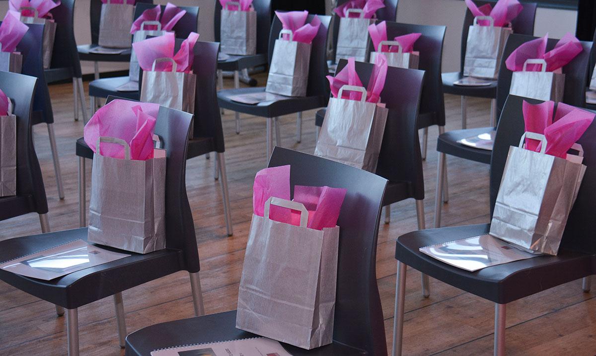 Business Event Succes Trek Je Aan Astrid Mast bonussen goodie bag