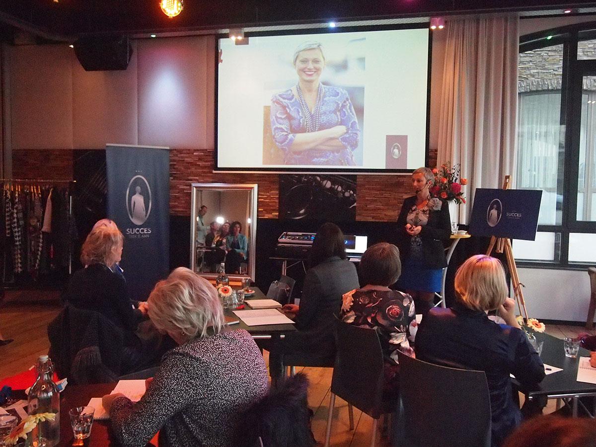 Business Event Succes Trek Je Aan Astrid Mast presentatie
