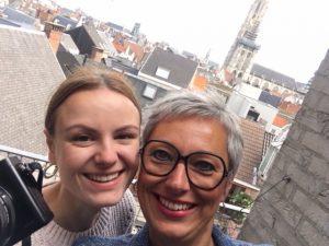 Renée Ruben en Astrid Mast